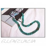 Grannycore Chunky Acrylic Glasses Chain/Holder - Turquoise [Retro Chic]