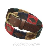 Navidad Premium Argentine Leather Handcrafted Polo Belts - Gift Boxed by pampeano   Unisex Designer Belts   3.5cm Wide