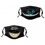 Betty-Boop Face Mask recyclable Multi-Usage for Men Women Mouth cover 2PC with 4Filters Adjustable-AA
