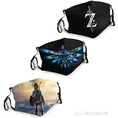 Zelda Face Mask Reusable and Washable mask for Travel and Personal Care
