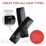 GOODY Ace Classic Bobby Pocket and Purse Hair Comb 5 Inches Black 1 Count