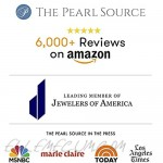 THE PEARL SOURCE 14K Gold Round Genuine Black Tahitian South Sea Cultured Pearl Leverback Earrings for Women