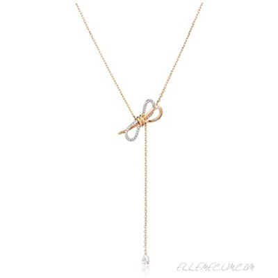 SWAROVSKI Women's Lifelong Bow Jewelry Collection Clear Crystals